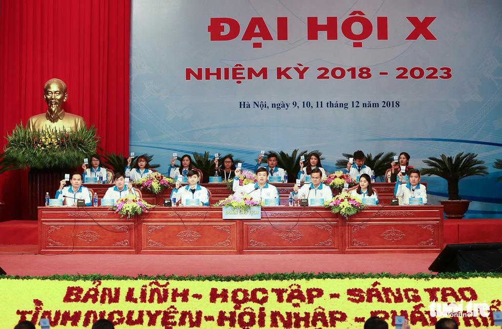 Đại hội Hội Sinh viên Việt Nam lần thứ X khai mạc: Tươi mới, đầy sức trẻ - Ảnh 7.