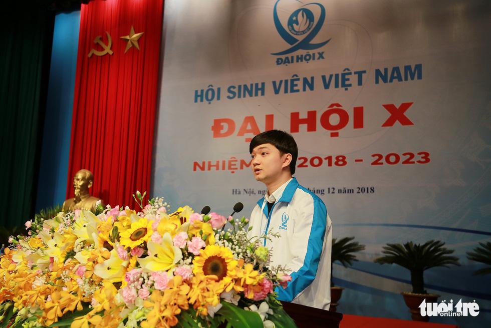 Đại hội Hội Sinh viên Việt Nam lần thứ X khai mạc: Tươi mới, đầy sức trẻ - Ảnh 9.