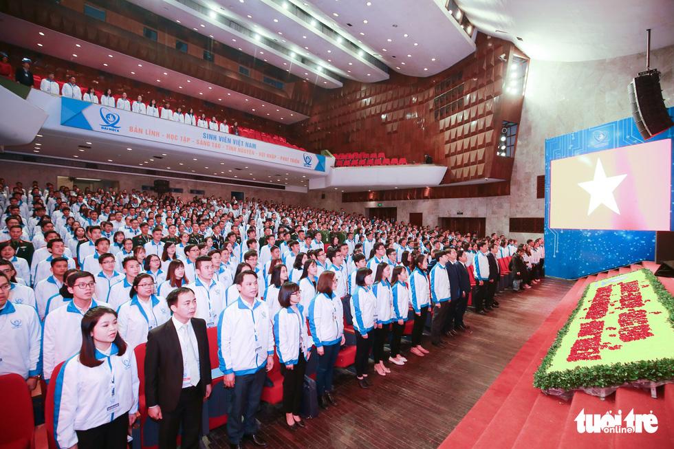 Đại hội Hội Sinh viên Việt Nam lần thứ X khai mạc: Tươi mới, đầy sức trẻ - Ảnh 4.
