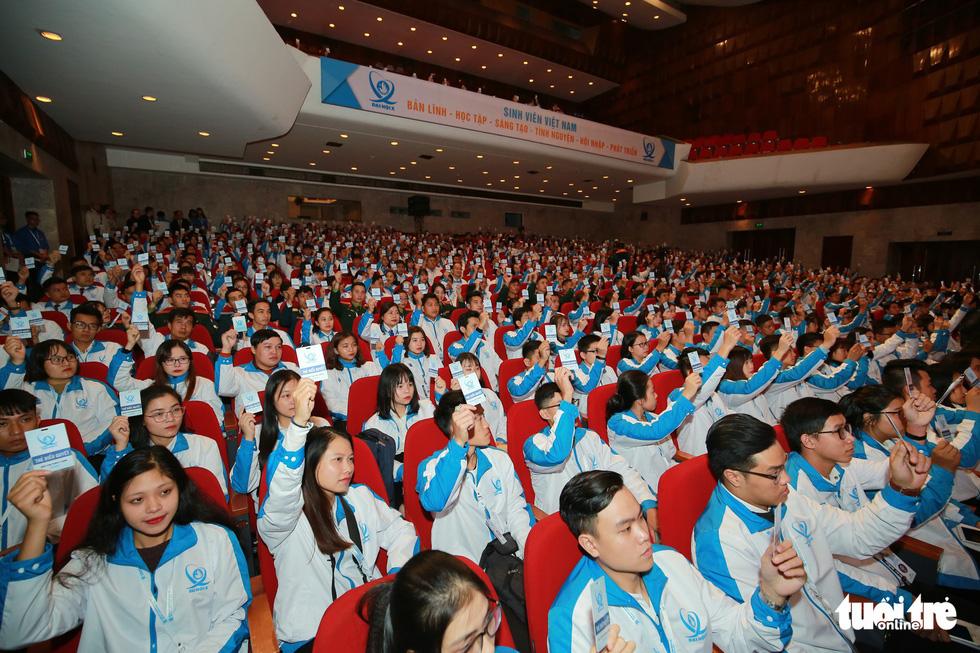 Đại hội Hội Sinh viên Việt Nam lần thứ X khai mạc: Tươi mới, đầy sức trẻ - Ảnh 5.