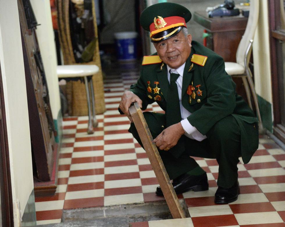 Khui hầm chứa vũ khí giữa Sài Gòn bỏ dở từ năm 1968 - Ảnh 9.