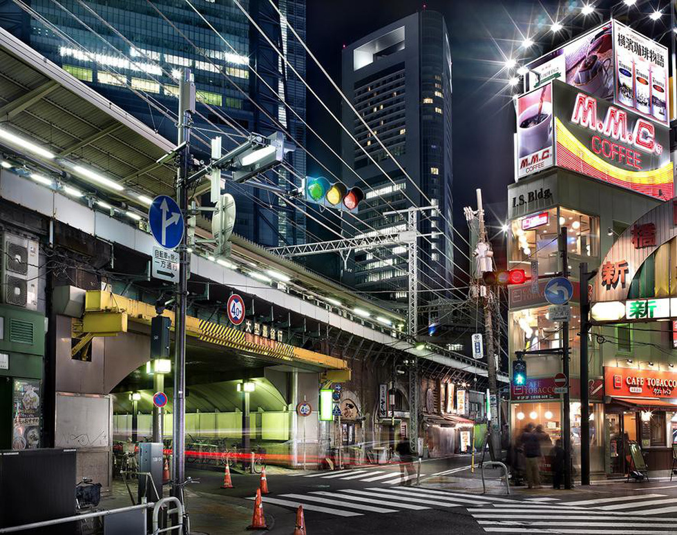 Ngắm ảnh các thành phố huyền thoại và rực rỡ về đêm - Ảnh 13.