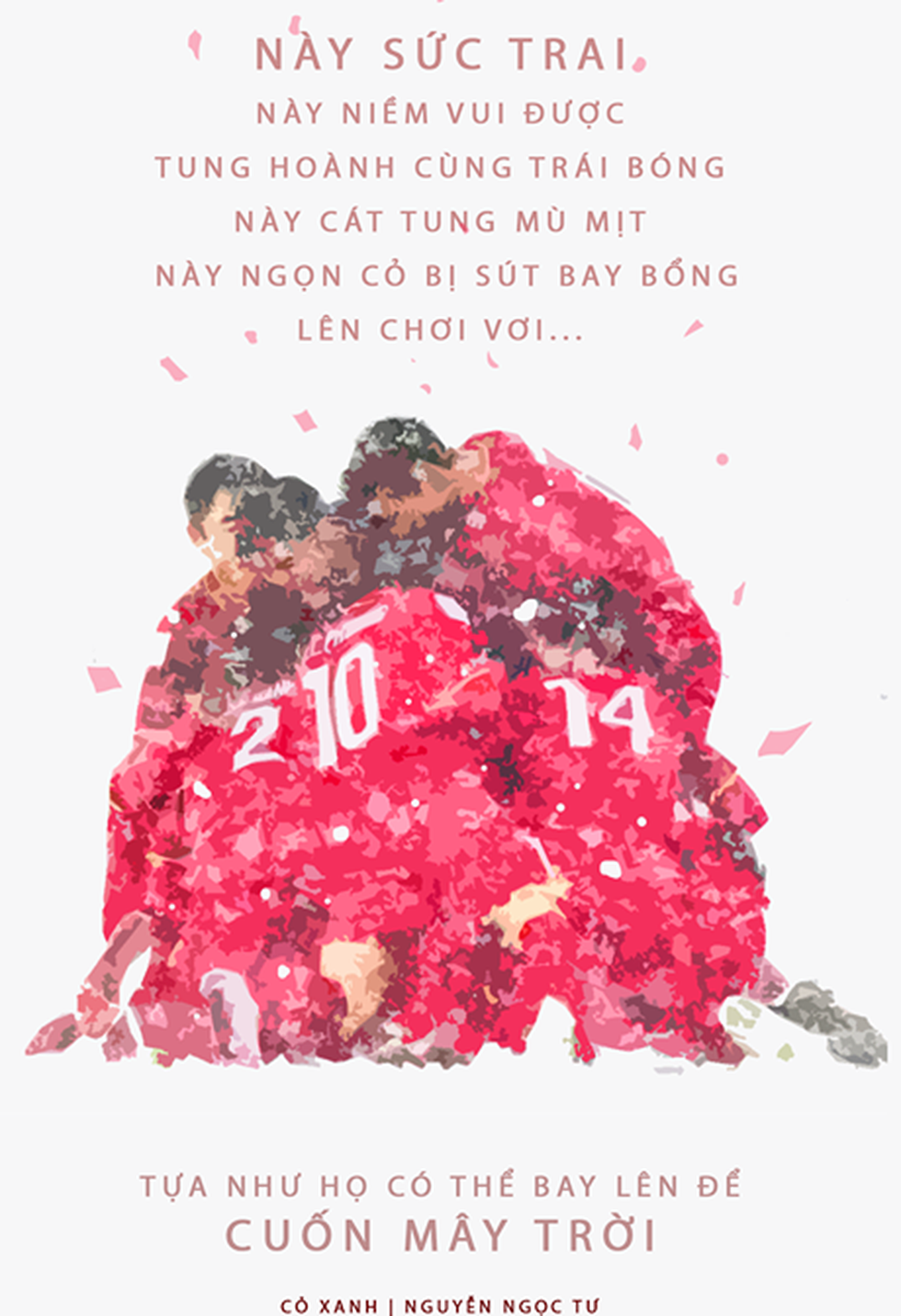Loạt hình vẽ đáng yêu về hành trình đáng nhớ của U23 Việt Nam - Ảnh 12.