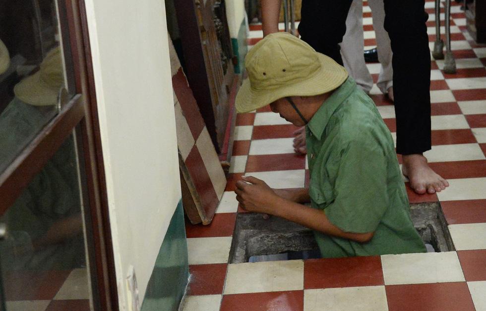 Khui hầm chứa vũ khí giữa Sài Gòn bỏ dở từ năm 1968 - Ảnh 11.