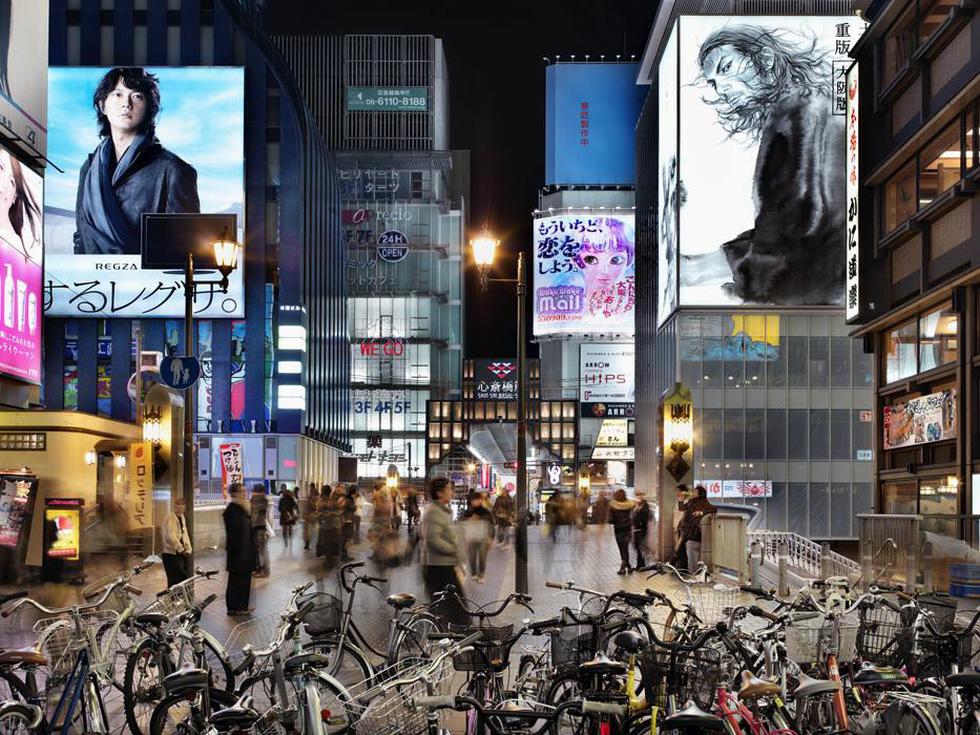 Ngắm ảnh các thành phố huyền thoại và rực rỡ về đêm - Ảnh 14.
