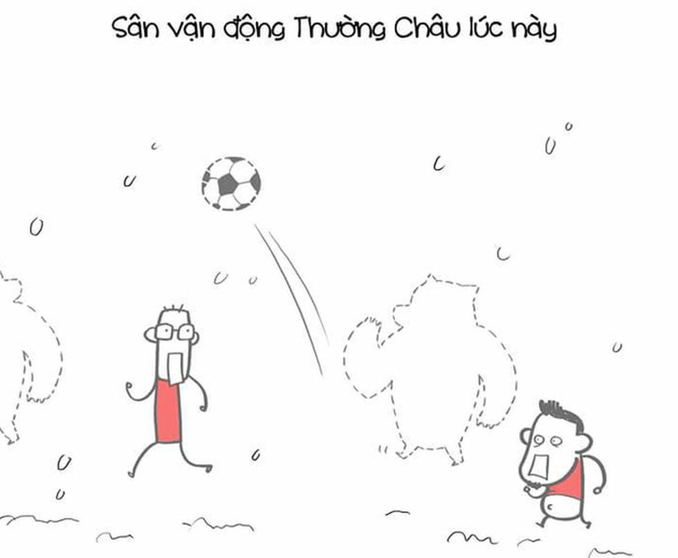 Loạt hình vẽ đáng yêu về hành trình đáng nhớ của U23 Việt Nam - Ảnh 15.