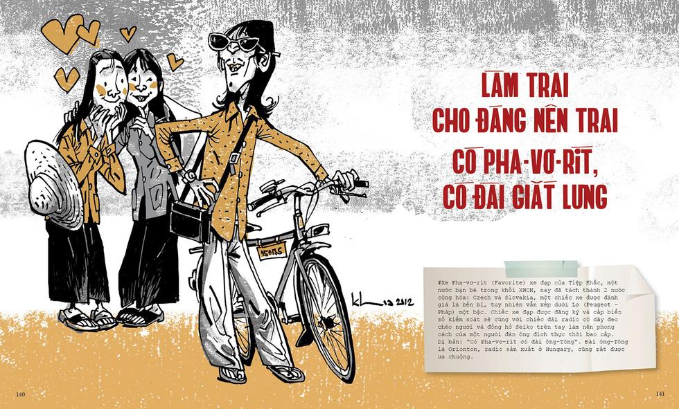 Thương nhớ thời bao cấp - sách tranh của Thành Phong và Hữu Khoa - Ảnh 12.