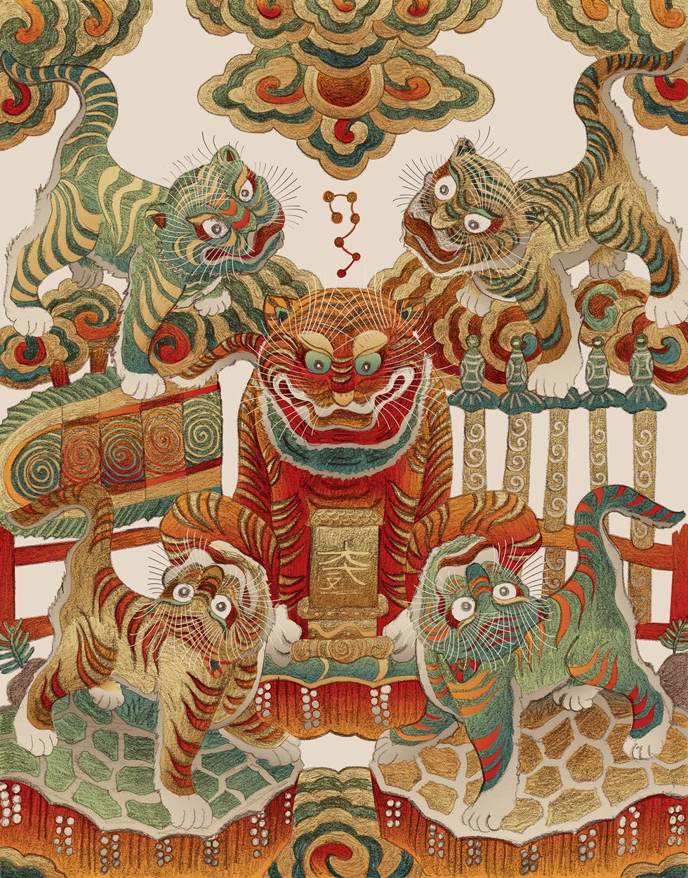 Tranh dân gian Đông Hồ - Hàng Trống trong một diện mạo khác - Ảnh 7.