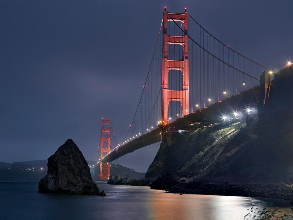 Ngắm ảnh các thành phố huyền thoại và rực rỡ về đêm - Ảnh 2.