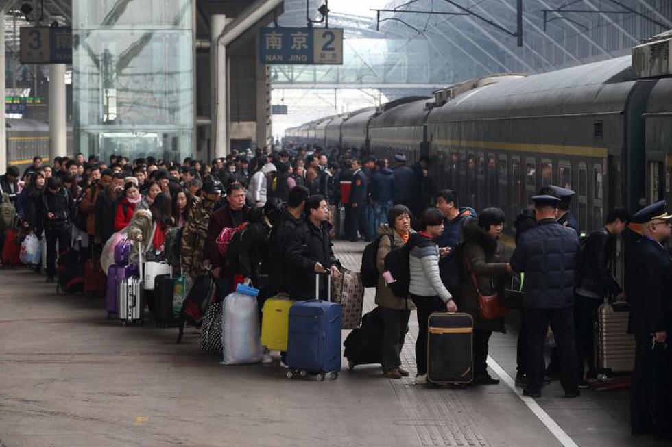 2,98 tỉ lượt dân Trung Quốc ùn ùn về quê ăn Tết - Ảnh 2.