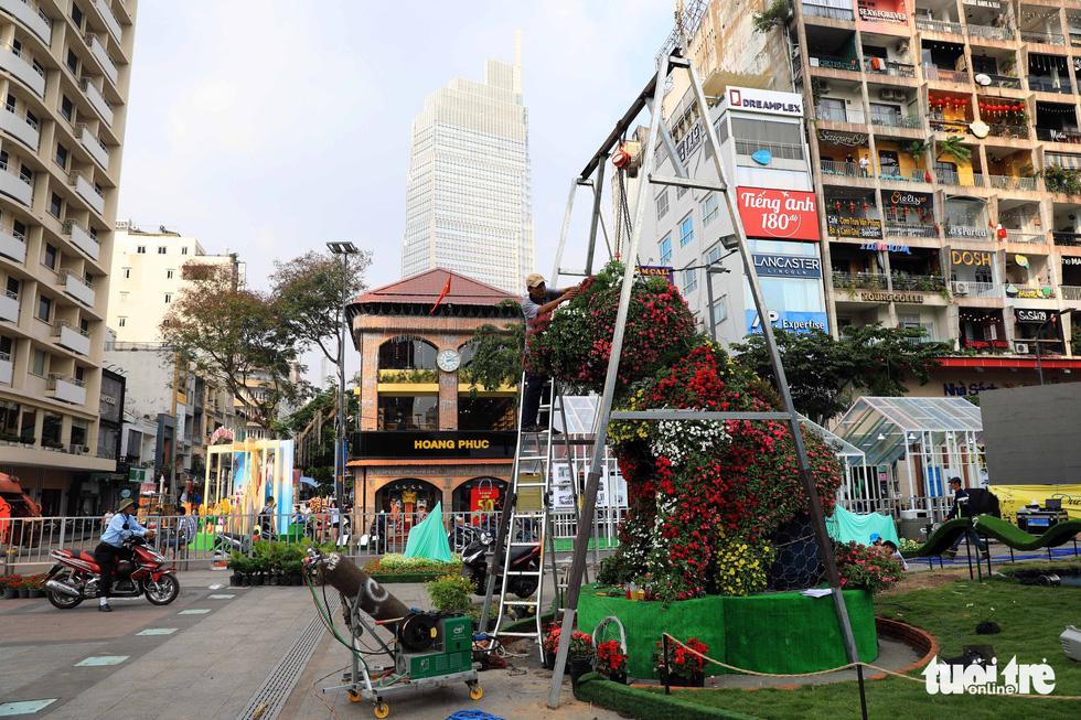 Chó Phú Quốc nổi bật ở đường hoa Nguyễn Huệ - Ảnh 17.