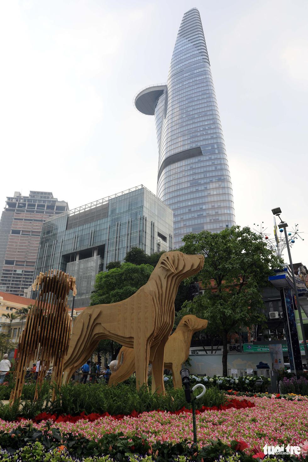 Chó Phú Quốc nổi bật ở đường hoa Nguyễn Huệ - Ảnh 18.