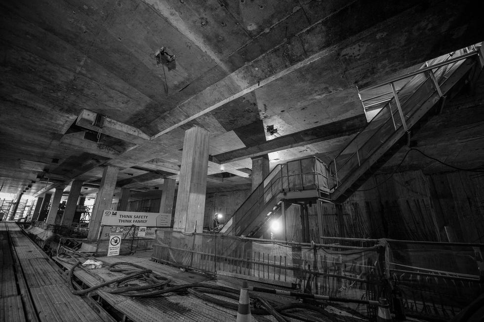 Chui xuống đất cùng chú robot khoan hầm metro TP.HCM - Ảnh 20.