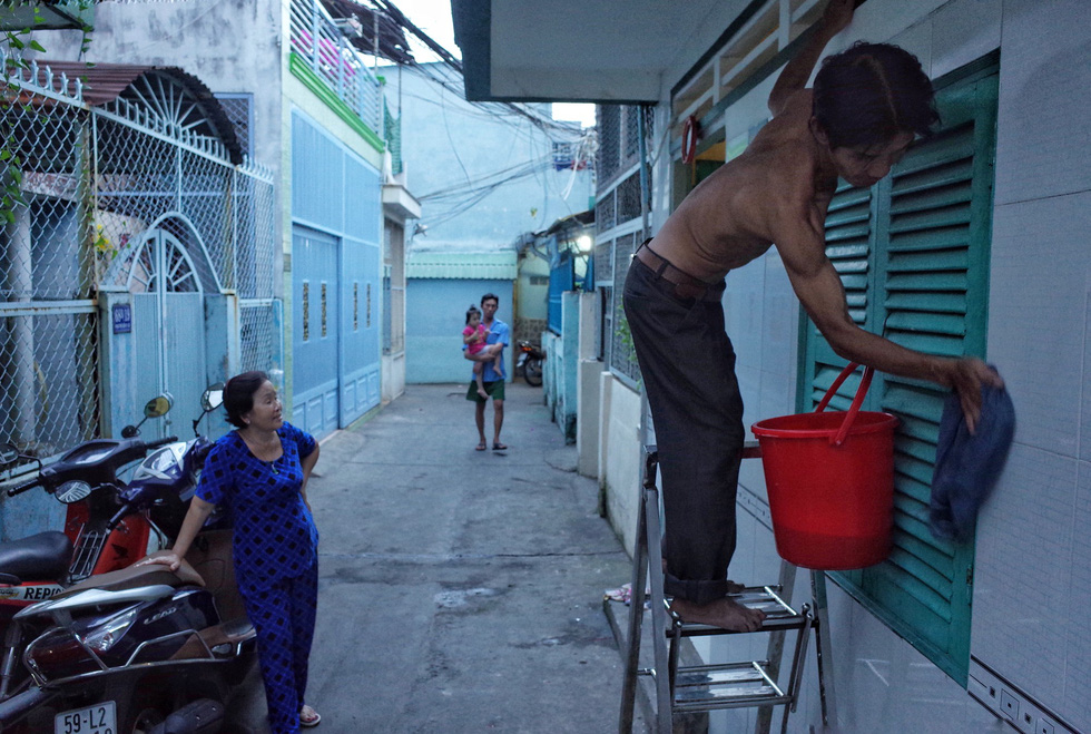 Những ngày cận Tết ở khu giải toả ven kênh rạch Sài Gòn - Ảnh 5.