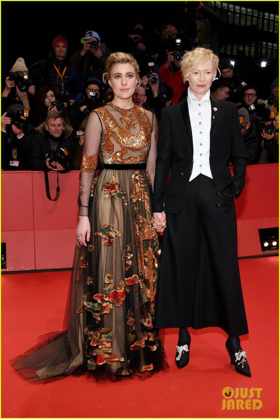 Dàn sao Hollywood trên thảm đỏ Liên hoan phim Berlin 2018 - Ảnh 8.