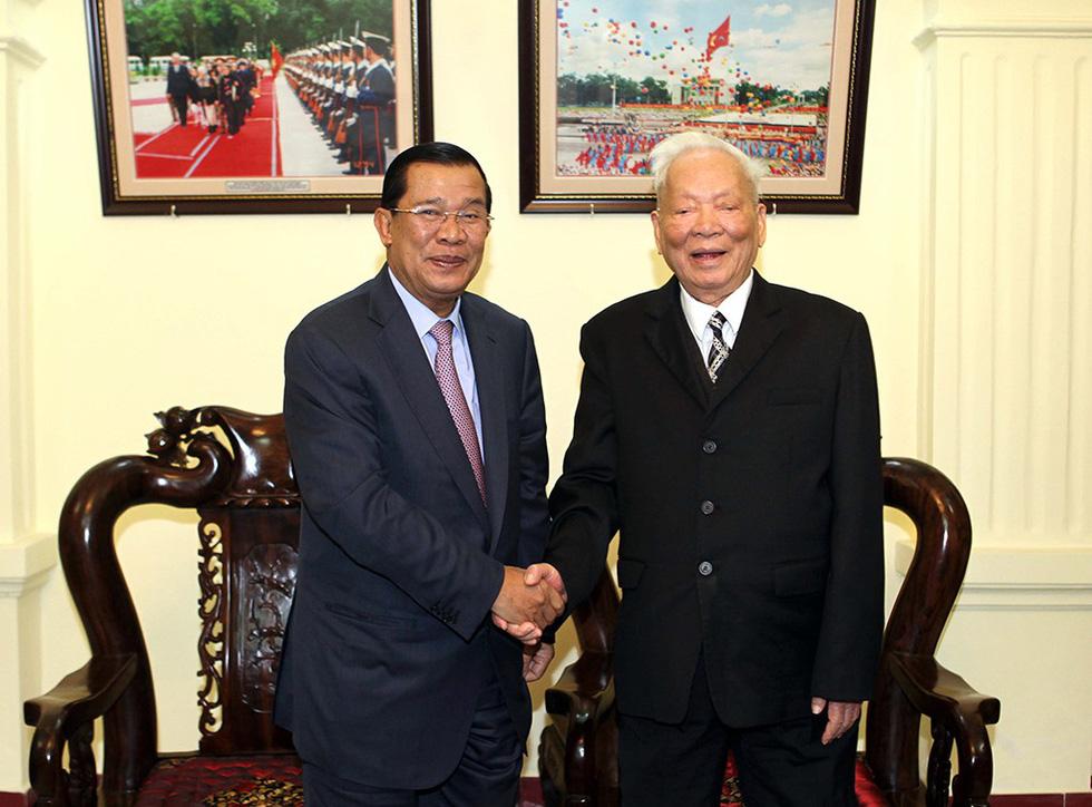 Đại tướng Lê Đức Anh - Tà Sáu Việt Nam của nhân dân Campuchia - Ảnh 7.