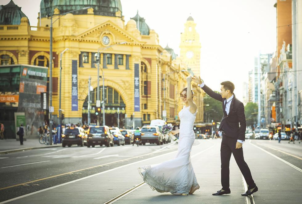 Du lịch qua những bức ảnh cưới đẹp như mơ - Ảnh 3.