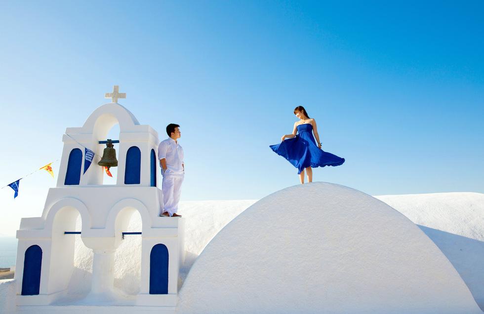 Du lịch qua những bức ảnh cưới đẹp như mơ - Ảnh 6.