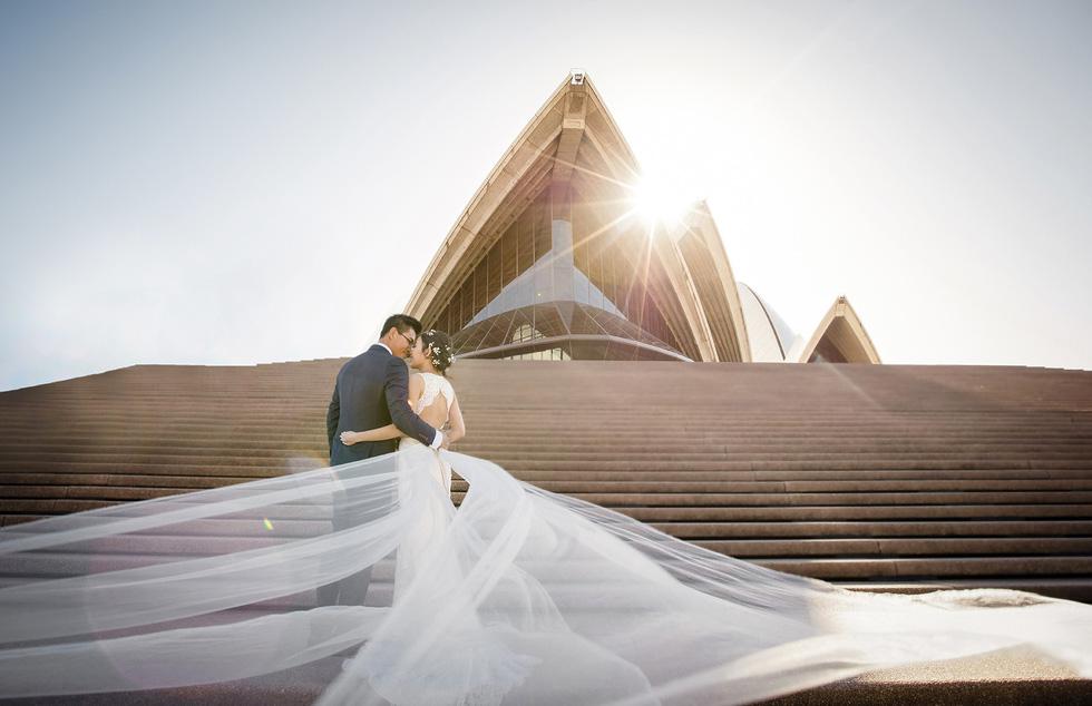 Du lịch qua những bức ảnh cưới đẹp như mơ - Ảnh 4.