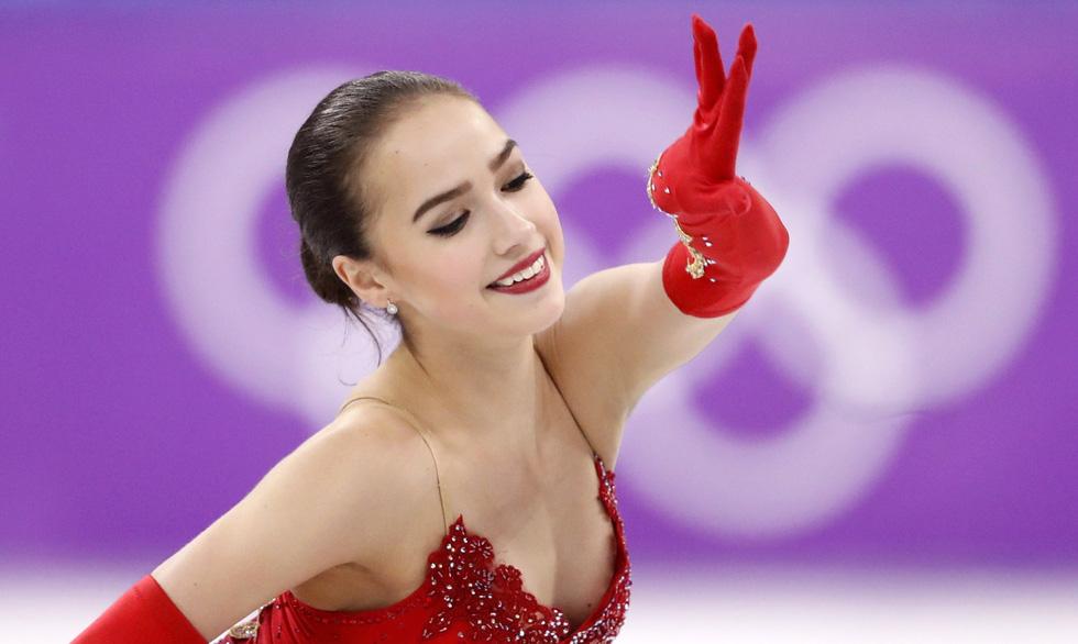 Bông hồng nước Nga 15 tuổi chinh phục sân băng Olympic 2018 - Ảnh 2.
