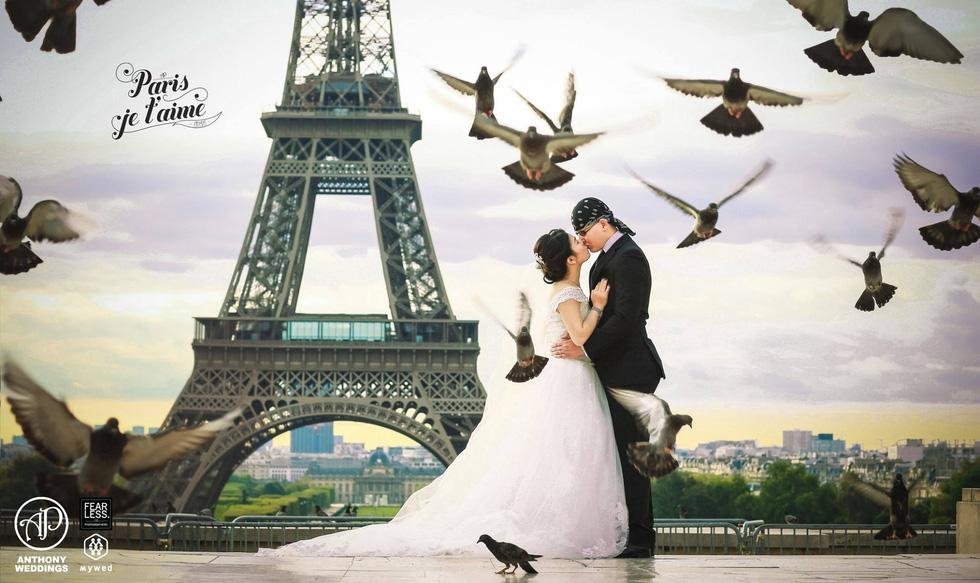 Du lịch qua những bức ảnh cưới đẹp như mơ - Ảnh 1.