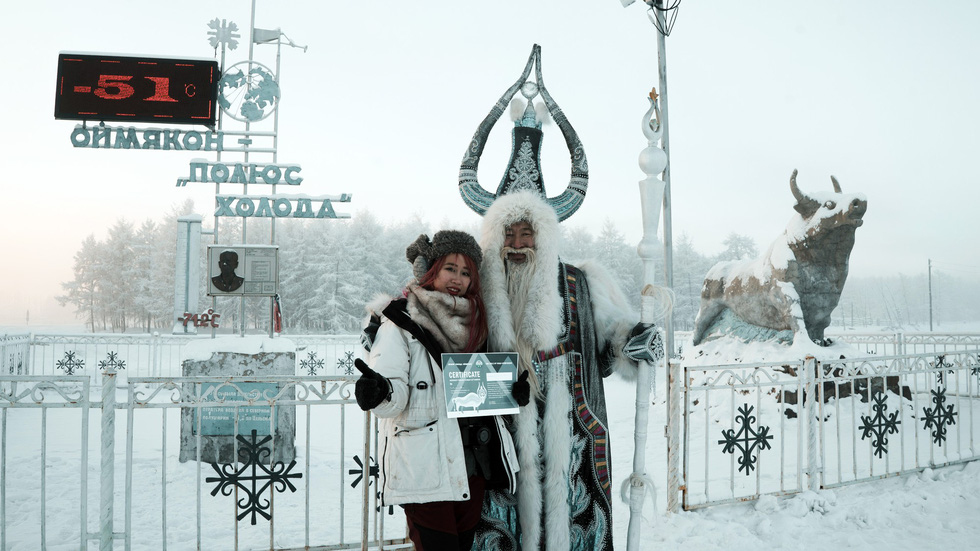 Người mẫu Việt đến nơi siêu lạnh trên Trái đất - Ảnh 2.