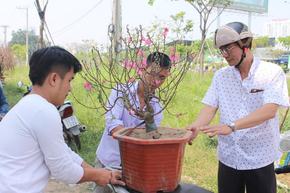 Đào tết Nhật Tân hàng chục triệu đồng xuống phố Sài Gòn - Ảnh 5.