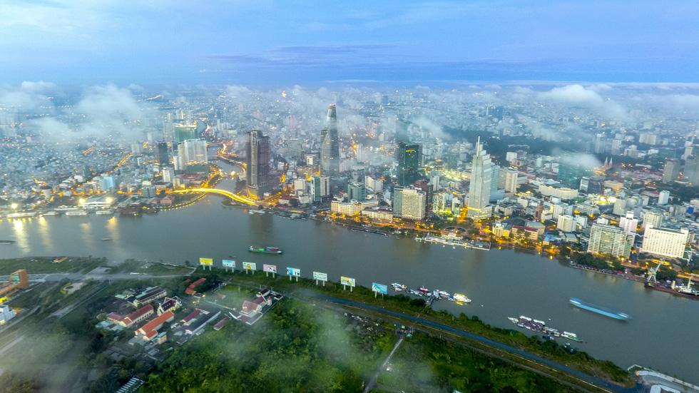 Sài Gòn mây sa đoạt giải nhất ảnh Bản sắc Việt tháng 12 - Ảnh 1.