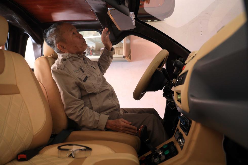 Ông Tâm xe điện và chiếc ôtô điện 5 chỗ CITY 18 - Ảnh 10.