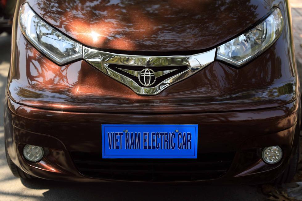 Ông Tâm xe điện và chiếc ôtô điện 5 chỗ CITY 18 - Ảnh 8.
