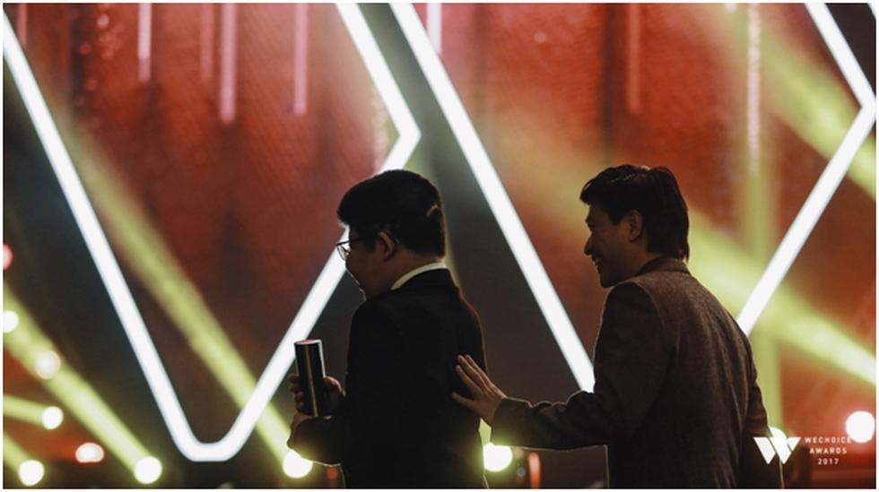 Bé Bôm, Sơn Tùng M-TP và tiết mục đặc sắc ở Gala WeChoice Awards - Ảnh 5.
