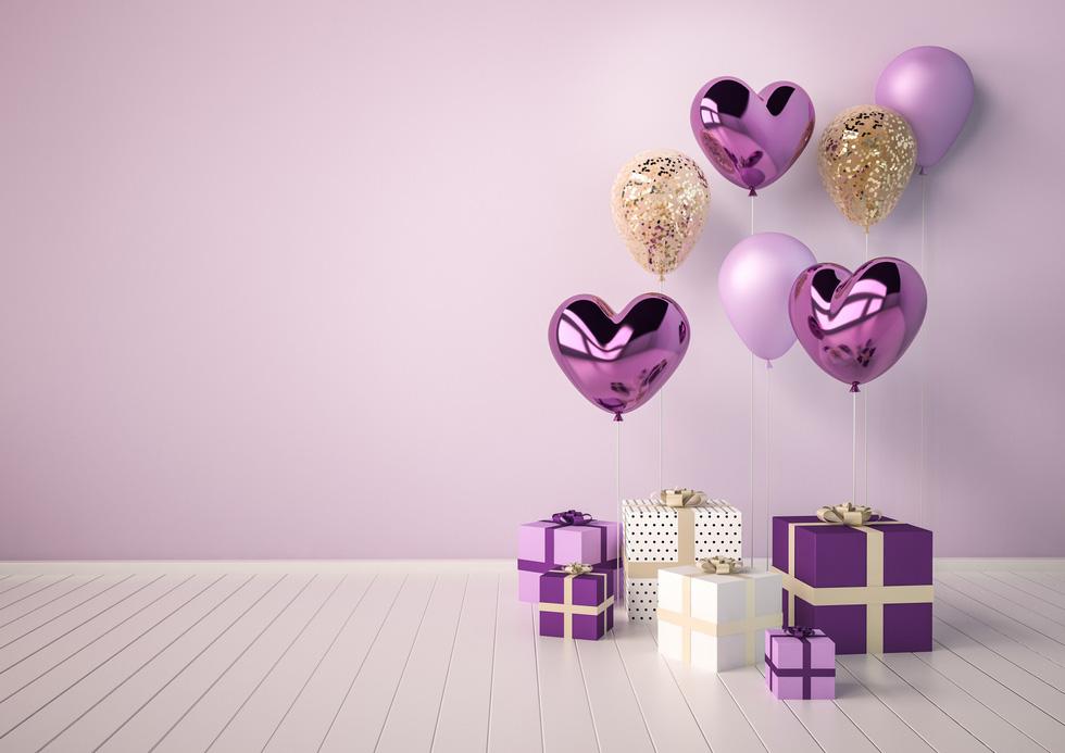 Thổi thêm chút lãng mạn với sắc màu ảo diệu cho Valentines năm nay - Ảnh 1.