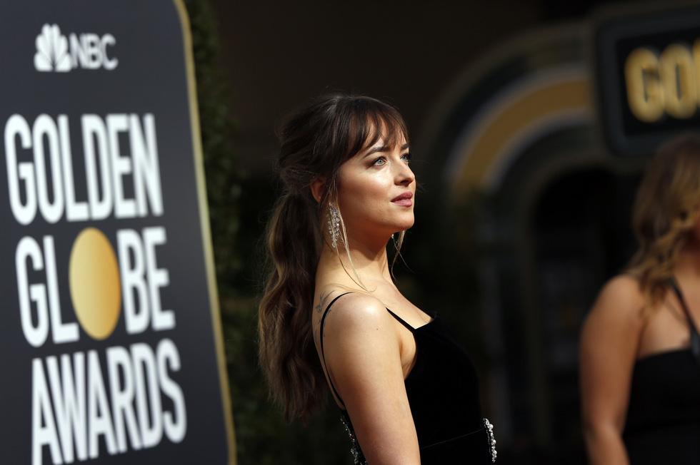 Minh tinh Hollywood đồng loạt sắc đen đến Quả Cầu Vàng - Ảnh 9.