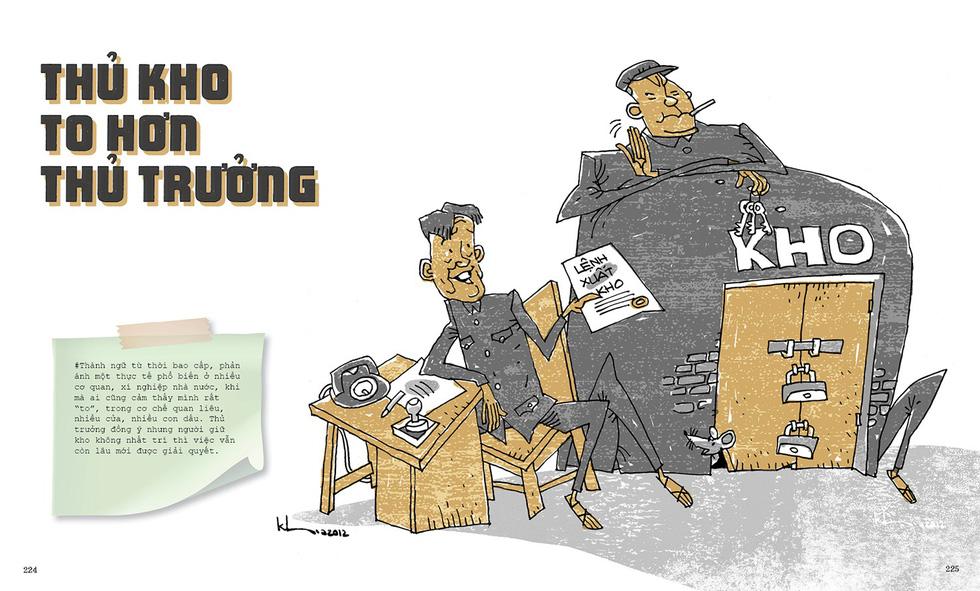Thương nhớ thời bao cấp - sách tranh của Thành Phong và Hữu Khoa - Ảnh 5.