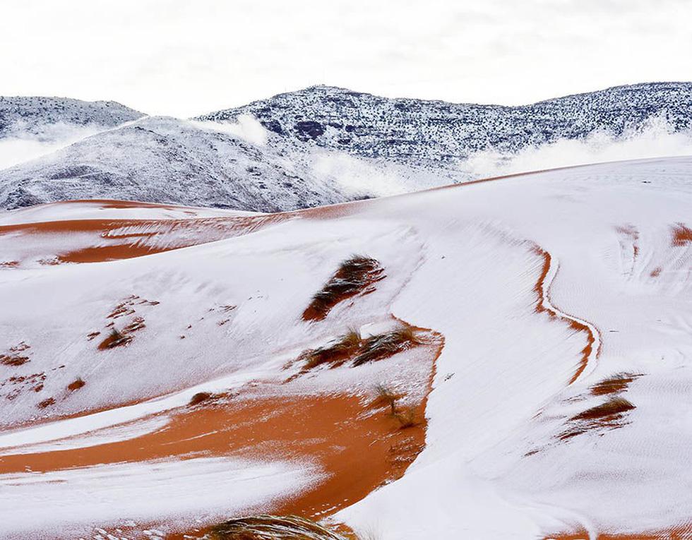 Chuyện khó tin: tuyết rơi phủ trắng sa mạc Sahara - Ảnh 3.