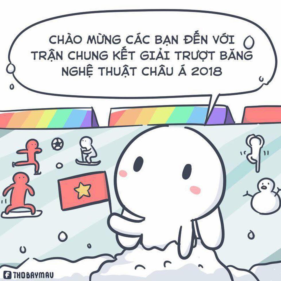 Loạt hình vẽ đáng yêu về hành trình đáng nhớ của U23 Việt Nam - Ảnh 3.