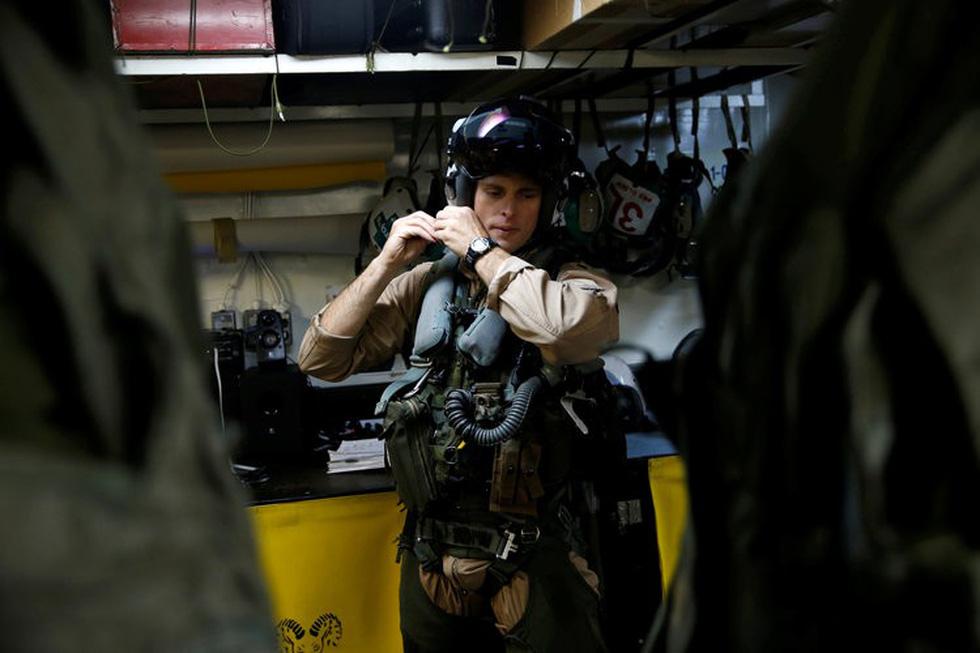 Những ngóc ngách thú vị trên tàu sân bay Mỹ - Ảnh 10.
