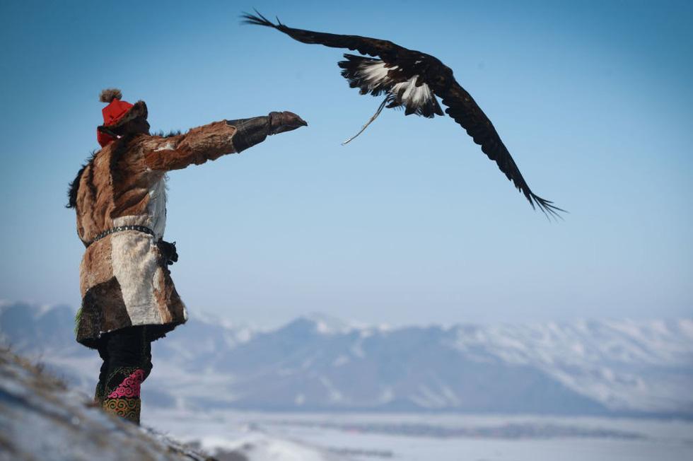 Lễ hội huấn luyện đại bàng ở Mông Cổ - Ảnh 6.