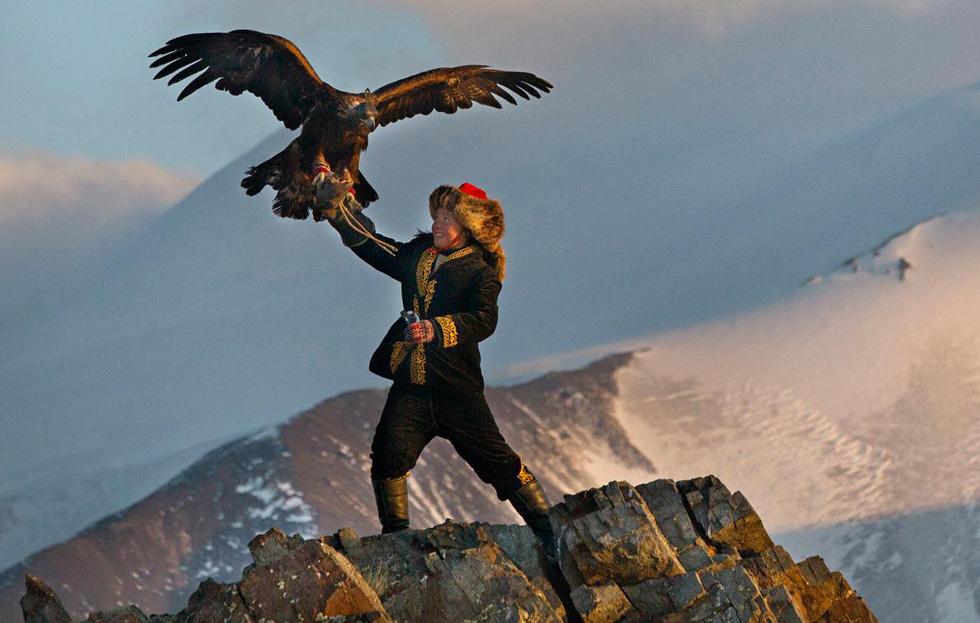 Lễ hội huấn luyện đại bàng ở Mông Cổ - Ảnh 7.