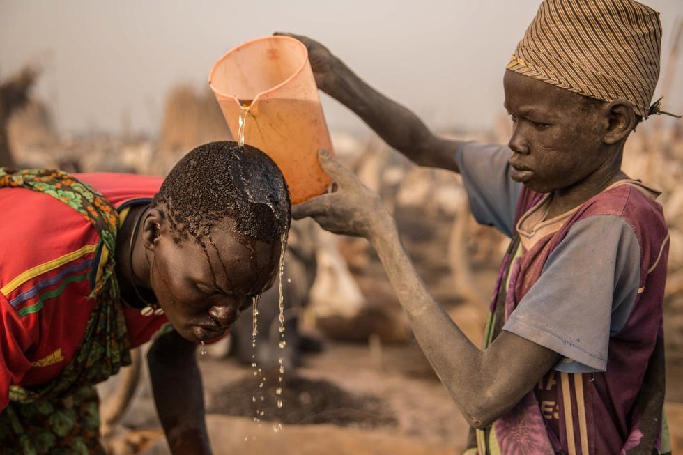 Trải nghiệm cuộc sống chăn bò của người Dinka ở Nam Sudan - Ảnh 12.