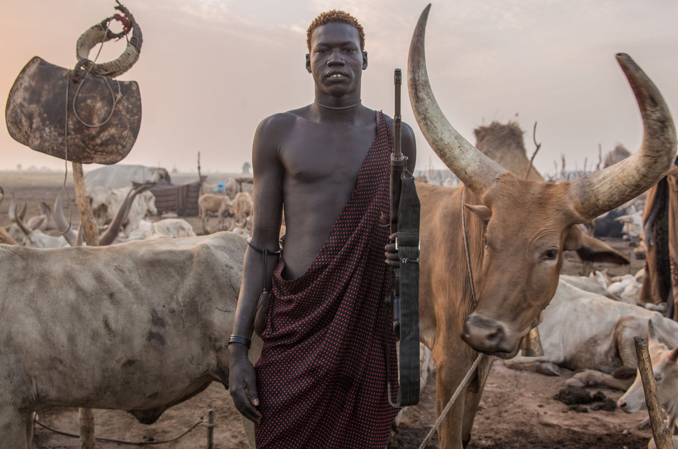 Trải nghiệm cuộc sống chăn bò của người Dinka ở Nam Sudan - Ảnh 15.