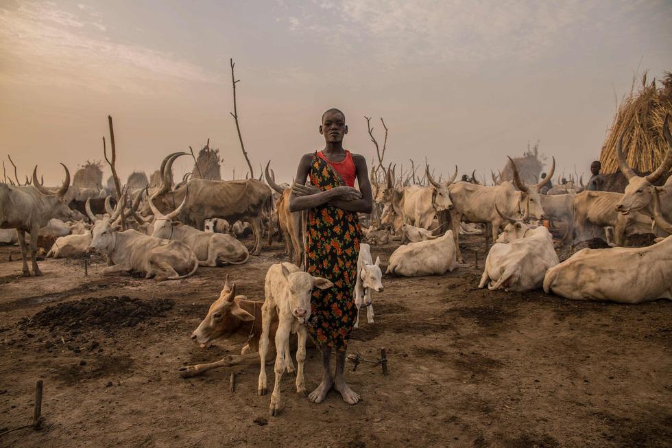Trải nghiệm cuộc sống chăn bò của người Dinka ở Nam Sudan - Ảnh 6.