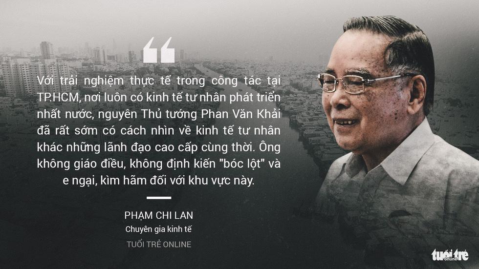 Nguyên Thủ tướng Phan Văn Khải trong mắt chuyên gia, trí thức - Ảnh 1.