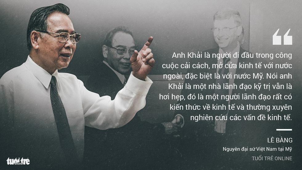 Nguyên Thủ tướng Phan Văn Khải trong mắt chuyên gia, trí thức - Ảnh 2.