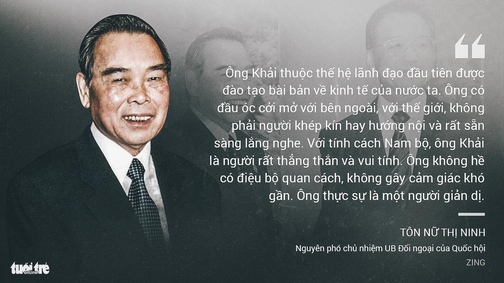 Nguyên Thủ tướng Phan Văn Khải trong mắt chuyên gia, trí thức - Ảnh 5.