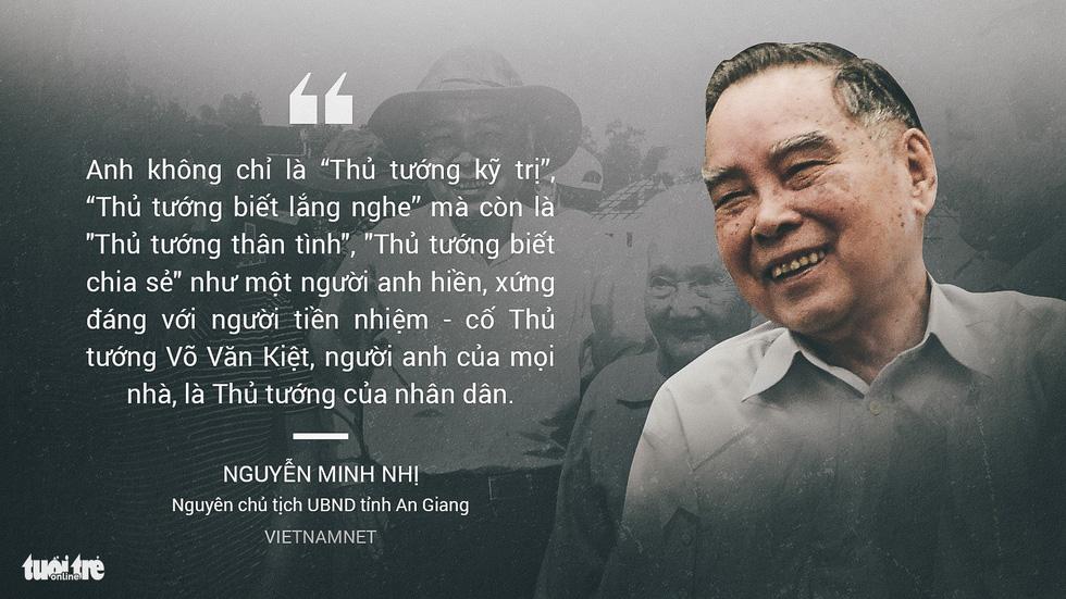 Nguyên Thủ tướng Phan Văn Khải trong mắt chuyên gia, trí thức - Ảnh 6.