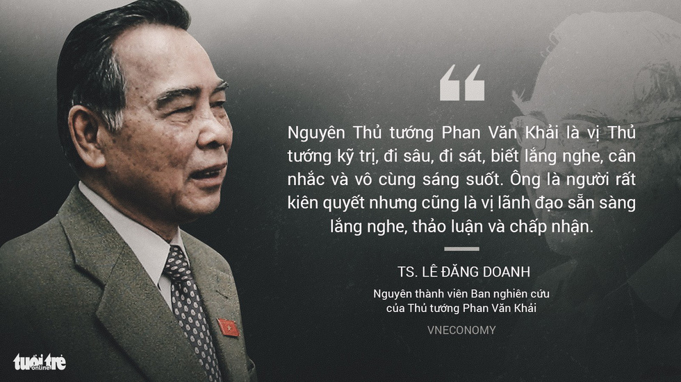 Nguyên Thủ tướng Phan Văn Khải trong mắt chuyên gia, trí thức - Ảnh 7.