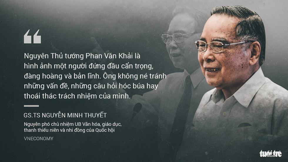 Nguyên Thủ tướng Phan Văn Khải trong mắt chuyên gia, trí thức - Ảnh 8.