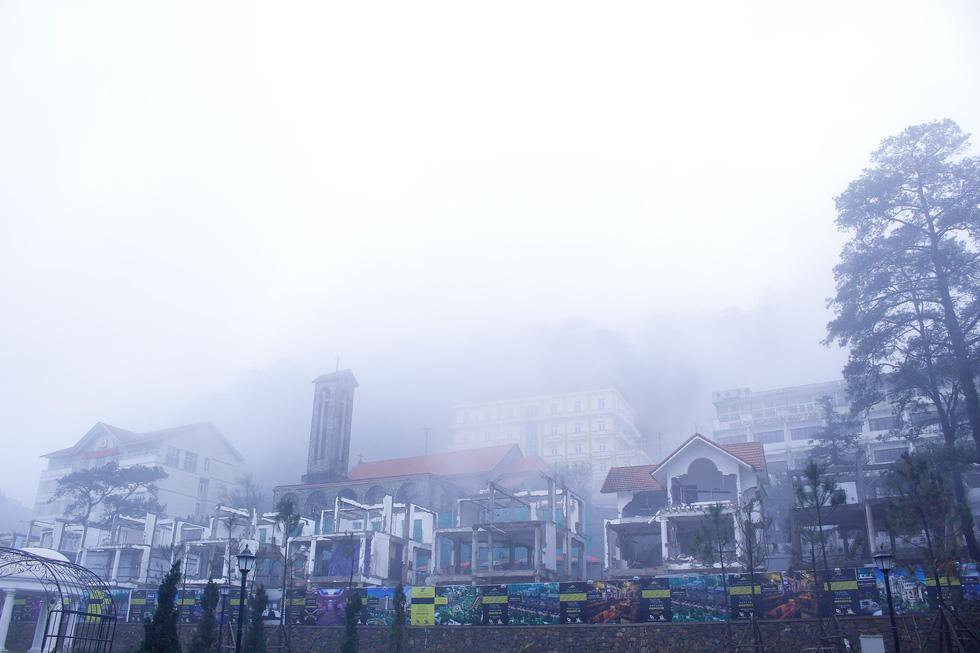 Sương mù tan, Tam Đảo hiện ra lạ lẫm - Ảnh 4.