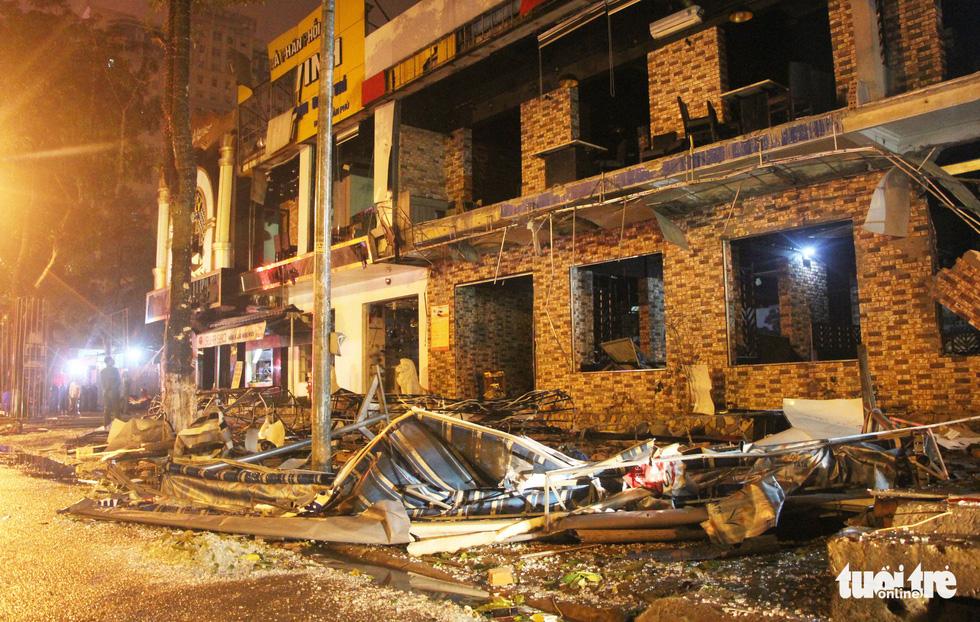 Quán nướng tan hoang sau vụ nổ gas như bom trong đêm - Ảnh 3.